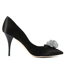 Купить стильные черные туфли