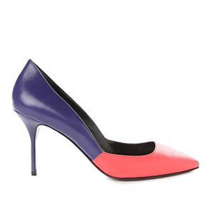 Разноцветные женские туфли