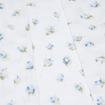 Комплект постельного белья 4 предмета  Цвет:голубой Артикул:1001787 2