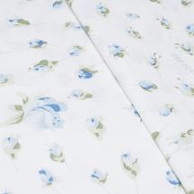 Комплект постельного белья 4 предмета  Цвет:голубой Артикул:1061717 2