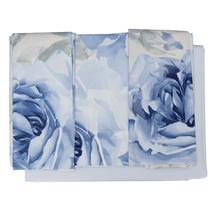 Комплект постельного белья 4 предмета  Цвет:синий Артикул:1061720 1