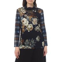 Блуза трикотажная женская CLIPS MORE Цвет:синий Артикул:0568194 1