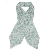 Галстук аскот мужской  Цвет:зеленый Артикул:0163945 1