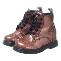 Ботинки для девочек  Цвет:коричневый Артикул:2435703 1
