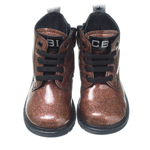 Ботинки для девочек  Цвет:коричневый Артикул:2435703 2
