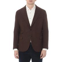 Пиджак мужской  Цвет:коричневый Артикул:0970825 1