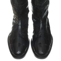 Ботфорты женские  Цвет:черный Артикул:0258971 2