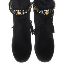 Ботфорты женские  Цвет:черный Артикул:0258980 2
