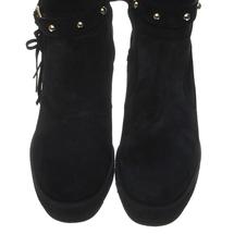 Ботфорты женские  Цвет:черный Артикул:0258985 2