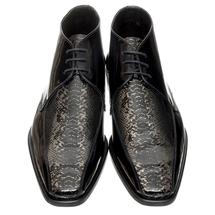 Ботинки мужские  Цвет:черный Артикул:0357809 2