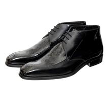 Ботинки мужские  Цвет:черный Артикул:0357809 1