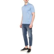 Поло мужское  Цвет:голубой Артикул:0973087 2