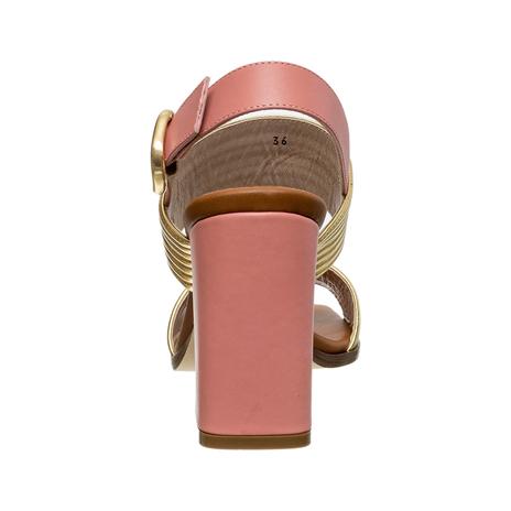 Босоножки женские ALBERTO GOZZI Цвет:золотой Артикул:0260676 4