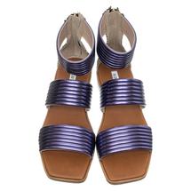 Сандалии женские  Цвет:фиолетовый Артикул:0260634 2
