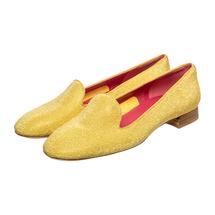 Слиперы женские  Цвет:желтый Артикул:0260783 1
