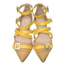 Туфли женские  Цвет:желтый Артикул:0260559 2