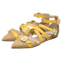 Туфли женские  Цвет:желтый Артикул:0260559 1