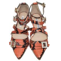Туфли женские  Цвет:коралловый Артикул:0260560 2