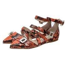 Туфли женские  Цвет:коралловый Артикул:0260560 1