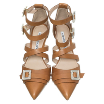 Туфли женские  Цвет:коричневый Артикул:0260562 2