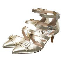 Туфли женские  Цвет:золотой Артикул:0260563 1