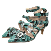 Туфли женские  Цвет:бирюзовый Артикул:0260564 1