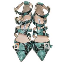 Туфли женские  Цвет:бирюзовый Артикул:0260564 2