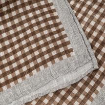 Платок декоративный мужской  Цвет:коричневый Артикул:0165267 2