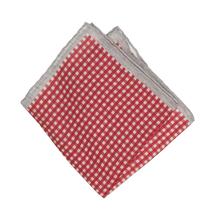 Платок декоративный мужской  Цвет:красный Артикул:0165267 1