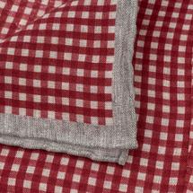 Платок декоративный мужской  Цвет:красный Артикул:0165267 2
