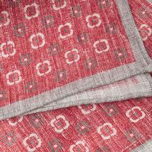 Платок декоративный мужской  Цвет:розовый Артикул:0165269 2