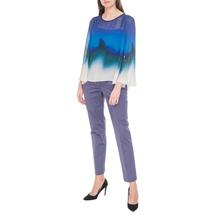 Комплект блуза/топ женский MARIELLA ROSATI Цвет:синий Артикул:0574059 2