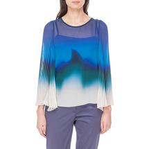 Комплект блуза/топ женский MARIELLA ROSATI Цвет:синий Артикул:0574059 1