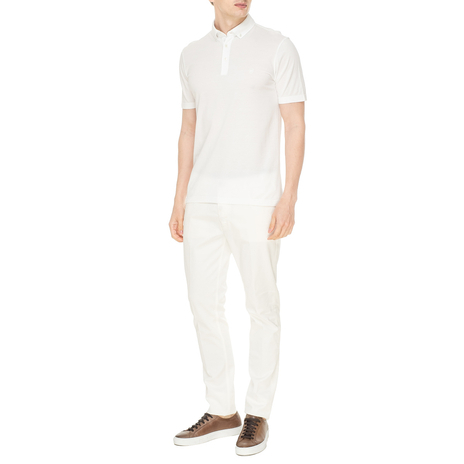 Поло мужское MAESTRO Цвет:белый Артикул:0974581 2