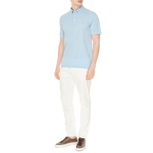 Поло мужское  Цвет:голубой Артикул:0974581 2