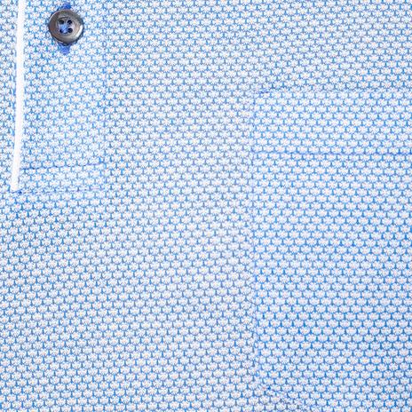 Поло мужское LUCA D'ANDREA Цвет:голубой Артикул:0974682 4