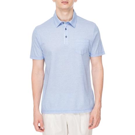 Поло мужское LUCA D'ANDREA Цвет:голубой Артикул:0974682 1