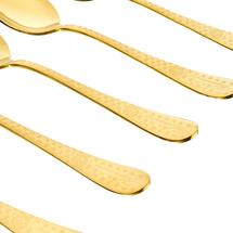 Набор ложек столовых 6 предметов  Цвет:золотой Артикул:1700684 2