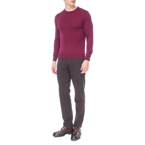 Джемпер мужской KANGRA Цвет:бордовый Артикул:0976161 2