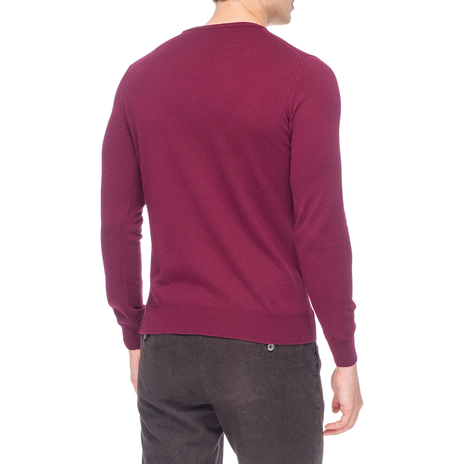 Джемпер мужской KANGRA Цвет:бордовый Артикул:0976161 3