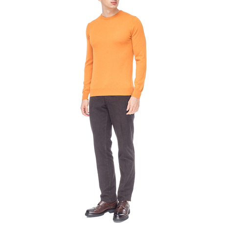 Джемпер мужской KANGRA Цвет:охра Артикул:0976161 2
