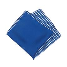 Платок декоративный мужской  Цвет:синий Артикул:0165516 1
