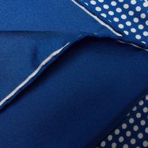 Платок декоративный мужской  Цвет:синий Артикул:0165516 2
