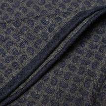 Платок декоративный мужской  Цвет:серый Артикул:0165524 2