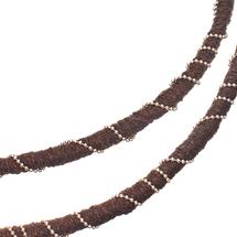 Колье женское  Цвет:черный Артикул:1842402 2