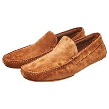 Туфли домашние мужские  Цвет:коричневый Артикул:0358926 1