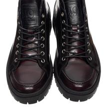 Ботинки мужские  Цвет:бордовый Артикул:0359235 2