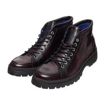 Ботинки мужские  Цвет:бордовый Артикул:0359235 1