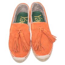 Эспадрильи женские  Цвет:оранжевый Артикул:0261329 2