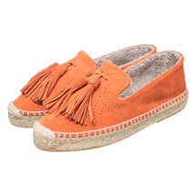 Эспадрильи женские  Цвет:оранжевый Артикул:0261329 1